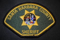Santa Barbara County Sheriff Patch, California (Current Issue)