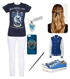 """""""Ravenclaw"""" by boston-c ❤ liked on Polyvore featuring STELLA McCARTNEY, Natasha Accessories, Converse, women's clothing, women, female, woman, misses and juniors"""