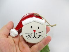 Lovely ceramic Christmas decorations Every one of my pieces is crafted by hand, giving them their own special, handmade character. Price is for Ceramic Christmas Decorations, Ceramic Christmas Trees, Holiday Decor, Handmade Ornaments, Christmas Tree Ornaments, Cat Christmas Tree, Ceramics, Handmade Ceramic, Wonderful Time