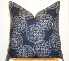 Decorative Pillow Cover 20x20 22x22 or by TurquoiseTumbleweed