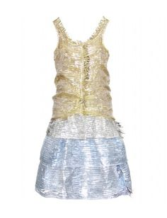 Metallic Fringe Dress by Marc Jacobs. €2.270,00