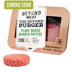 Beyond Meat's new vegan burger patty looks exactly like ground beef—wait 'til you taste it!
