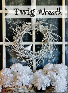 Twigs wreath