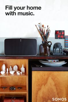 No matter how large your room, the Sonos PLAY:5 fills the space with pure, brilliant sound. Fill your home with music today.