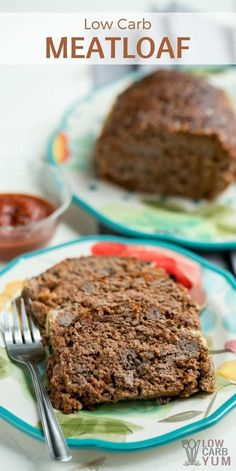 A keto low carb meatloaf that uses pork rinds in place of the bread crumbs. The ketchup typically called for in the recipe is replaced with basic ingredients.   LowCarbYum.com via @lowcarbyum