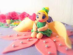 Fairy princess cake - Disney Tinkerbell cake