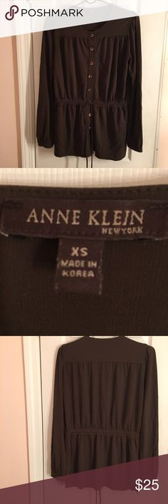 Blouse NWOT Anne Klein Sweaters