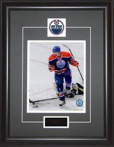 Ryan Nugent-Hopkins Autographed Framed 8x10