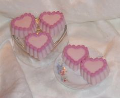 3 oz Valentine's Day & Heart Soap  Your by CraftyCutiesbyDesign, $4.00