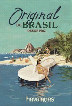 Havaianas e praia | Originais do Brasil desde 1962