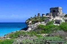 Tulum Ruins near Playa Del Carmen, Mexico