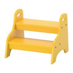 TROGEN Sgabello per bambini, giallo giallo 40x38x33 cm