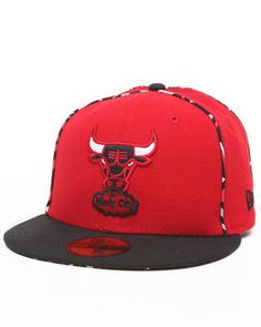 New Era   Chicago Bulls Ne X Pop 5950 Fitted Hat