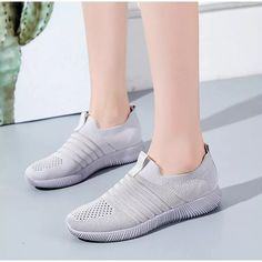 Women Sneakers Vulcanized shoes Mesh Breathable Comfort Casual Ladies Walking Shoe Fashion Platform Autumn Spring Female Loafer Flats, Loafers, Sneaker Outfits Women, Walking Shoes, Shoe Brands, Size Model, Fashion Shoes, Mesh, Platform