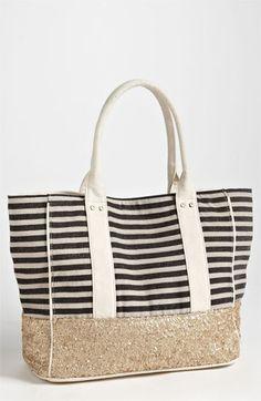 luka stripe tote // deux lux -- pretty spring/summer tote!!