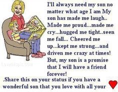 Ill Always Need My Son Pictures, Photos, and Images for Facebook, Tumblr, Pinterest, and Twitter