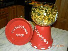 Oklahoma Sooners (OU) Candy Dish