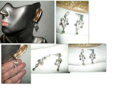 My eBay Active Light Purple, Deep Purple, Crystal Earrings, Ear Piercings, My Ebay, Crystals, Stuff To Buy, Accessories, Vintage