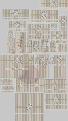 Lollita Cereja: Layout Kit Toillet - Casamento
