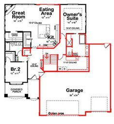 If you've found a house plan that's close to what you need, but you'd like to make changes to the design or layout, Customized Home Plans can help. Learn more about how you can get custom house plans with Design Basics! Cool Room Designs, Custom Home Plans, Floor Plan Layout, Design Basics, Bedroom Floor Plans, Plan Design, Design Ideas, Tiny House Plans, Story House