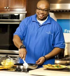 "Aaron McCargo Jr., host of ""Big Daddy's House"" on the Food Network"