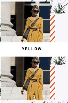 Yellow Pantone, Fashion Inspiration, Yellow, Colors