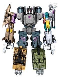 Combiner Wars Combaticons Official Images - Transformer World 2005 - TFW2005.COM
