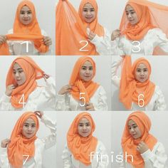 This is one of the best colors I love to try during spring, I love to mix it with white, I have already imagined an outfit idea with this hijab style using this hijab color, if you're planning on wearing…