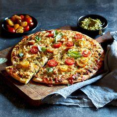 Chicken & Pesto Pizza In 3 Easy Steps