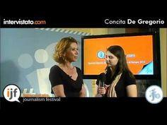 Intervista con Concita De Gregorio, giornalista italiana ex direttore de L'Unità ed attualmente editorialista per La Repubblica.