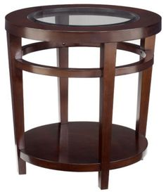 Check out what I found at La-Z-Boy! Urbana Round End Table