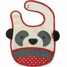 Skip Hop Zoo Tuck-Away Bib - Panda