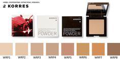 Korres Wild Rose Compact Powder Brightening Flawless Finish WRP8 0 35 oz 10g…