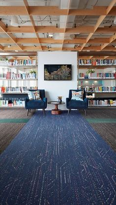 10 Flooring Highlights from NeoCon 2018 from Interior Design Magazine - includes Visual Code from Interface Brick Interior, Interior Design, Tile Showroom, Showroom Ideas, Floor Layout, Exterior Makeover, Carpet Colors, Carpet Design, Modern Exterior