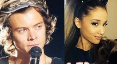 "harry styles proppsing to ariana grande | Harry Styles autore per Ariana Grande: ""A little bit of your heart ..."