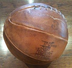 Balón de fútbol 1929 D&M (Draper & Maynard) H55 (Colección particular de Pablo Gines)