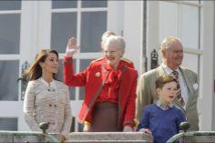 La reine Margrethe II du Danemark célèbre son 74e anniversaire