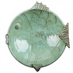 Fish shaped bowl.