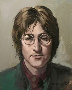 artwork of john lennon - Google Search