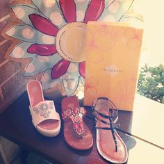 Sandals are the glass slippers of South Padre Island! ☀️ Come in and grab a new pair of Yellowbox Sandals at Renee's!   #reneesofSPI #yellowbox