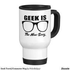 Geek Travel/Commuter Mug