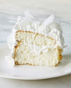 Coconut Cloud Cake. Martha shares the secrets behind this showstopping cake.