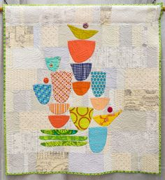 2015 QuiltCon Winners! | The Modern Quilt Guild The Dishes Can Wait by Rachel Kerley