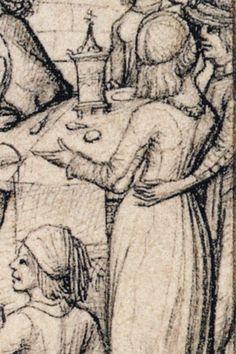 detail from 'Sol und seine Kinder' Housebook Master, last quarter 15th century, South Germany (Rijksmuseum Amsterdam)
