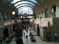 l'interieur du musée d'orsay...