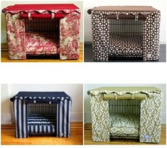 dog crate cover diy! I want one of these for my baby's