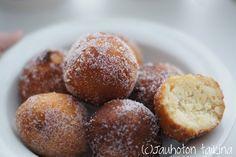 Gluteeniton munkki | Jauhoton Taikina Pretzel Bites, Muffin, Bread, Baking, Breakfast, Recipes, Food, Party, Morning Coffee