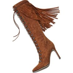 Manolo Blahnik Siouxie Suede Fringe Boot ($1,795) ❤ liked on Polyvore featuring shoes, boots, manolo blahnik boots, suede fringe boots, manolo blahnik shoes and manolo blahnik