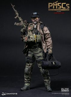 PMSCs (Private Military and Security Companies) Contractor in Syria - Available at Legends Toys and Hobbies