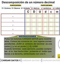 Tema en el que se explica con claridad el concepto de número decimal, como ordenarlos y como aproximarlos a una unidad dada